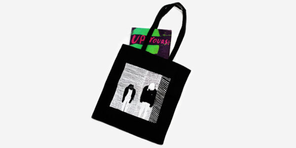 UNDERGROUND ENGLAND BLACK CRYSTAL CASTLES TOTE BAG FOR MEN AND WOMEN