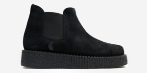 UNDERGROUND CREEPER CHELSEA BOOT – BLACK SUEDE – BOOTS FOR MEN AND WOMEN