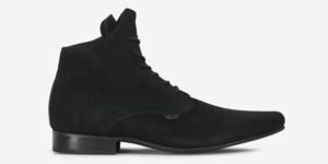 UNDERGROUND - PIXIE – WINKLEPICKER BOOT – BLACK SUEDE – BOOTS FOR MEN AND WOMEN