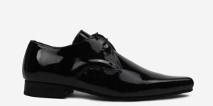 Underground England Paul Winklepicker patent leather black shoe for men and women