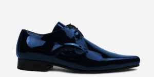 Underground England Paul Winklepicker patent navy black shoe for men and women