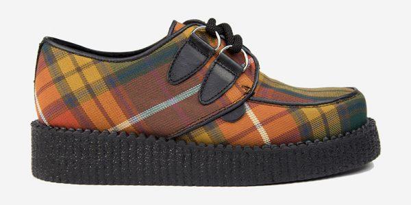 Underground Original Wulfrun Creeper Buchanan Tartan shoe for men and women