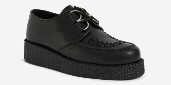 Black Leather Wulfrun Creeper