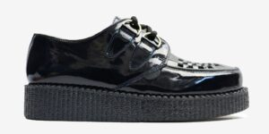 UNDERGROUND ORIGINAL WULFRUN CREEPER – NAVY PATENT LEATHER – SHOES FOR MEN AND WOMEN