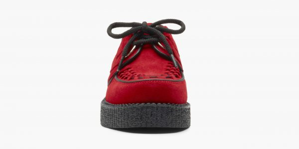 UNDERGROUND ORIGINAL WULFRUN CREEPER – RED SUEDE – SHOES FOR MEN AND WOMEN