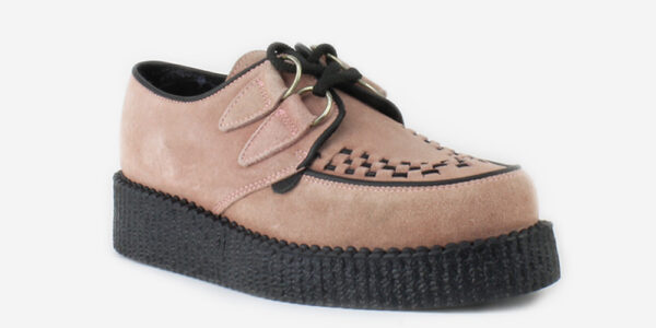 UNDERGROUND ORIGINAL WULFRUN CREEPER – DUSTY PINK SUEDE – SHOES FOR MEN AND WOMEN