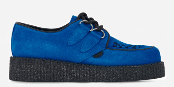 UNDERGROUND ORIGINAL WULFRUN CREEPER – ROYAL BLUE SUEDE - SHOES FOR MEN AND WOMEN