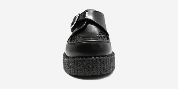 UNDERGROUND KING TUT – ORIGINAL CREEPER BUCKLE SHOE– BLACK LEATHER – SHOES FOR MEN AND WOMEN