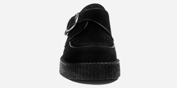 UNDERGROUND KING TUT – ORIGINAL CREEPER BUCKLE SHOE – BLACK SUEDE – SHOES FOR MEN AND WOMEN
