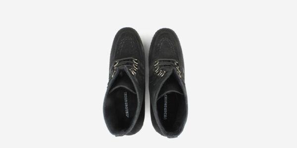 UNDERGROUND ORIGINAL WULFRUN CREEPER BOOT – BLACK SUEDE – BOOTS FOR MEN AND WOMEN