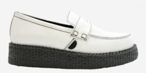 UNDERGROUND CREEPER LOAFER – WHITE BOX LEATHER – SHOES FOR MEN AND WOMEN