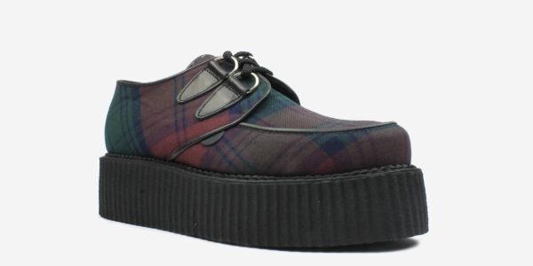 Underground Original Wulfrun Creeper lindsay Tartan shoe for men and women