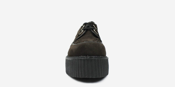 Underground Original Wulfrun Creeper brown suede shoe for men and women