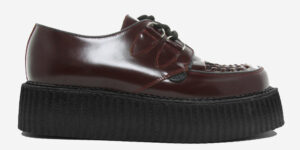 Underground Original Wulfrun Creeper oxblood leather and shoe for men and women