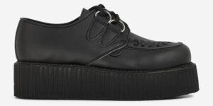 Underground Original Wulfrun Creeper black vegan friendly leather shoe for men and women