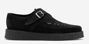 Apollo Creeper - Black Suede