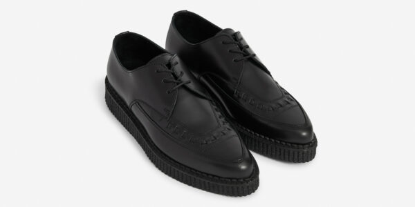 Underground Original Barfly Creeper black leather shoe for men and women