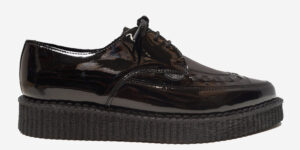 Underground Original Barfly Creeper black patent leather shoe for men and women