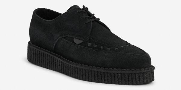 Underground Original Barfly Creeper black suede shoe for men and women