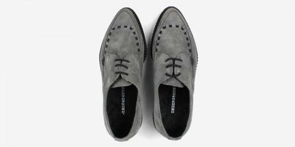 Underground Original Barfly Creeper grey suede shoe for men and women