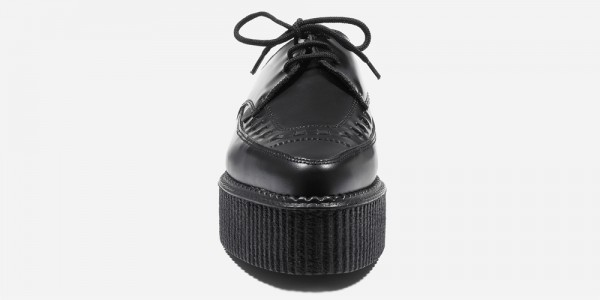 Underground Original barfly Creeper black leather for men and women