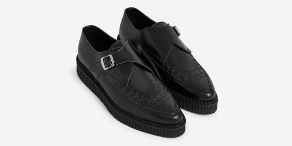 Apollo Creeper Black Leather