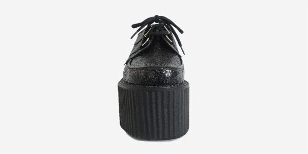 Underground Original Wulfrun Creeper glitter fabric black for men and women