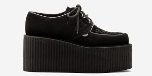 Wulfrun Creeper - black suede