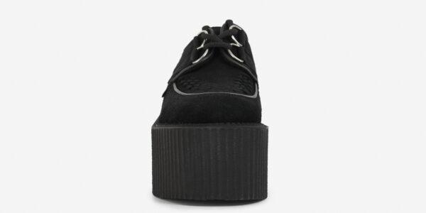 Underground Original Wulfrun Creeper black suede leather shoe for men and women