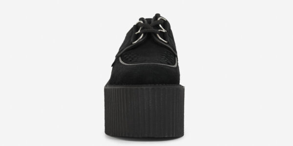 wulfrun creeper triple sole black suede