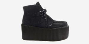 Underground Original Wulfrun Creeper black suede leather boot for men and women