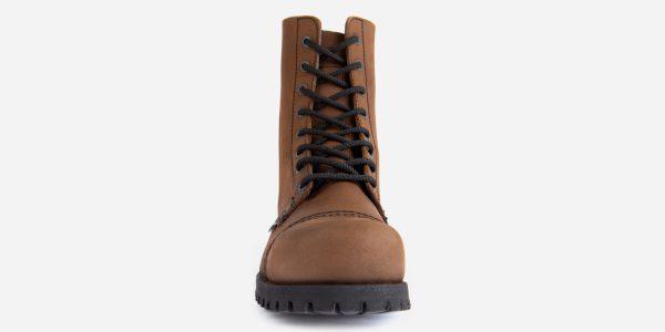 Underground Original Steel Cap Stormer aztec leather tan combat boot for men and women