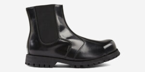 Underground Original Guardsman Steel Cap black leather Chelsea boot for men and women