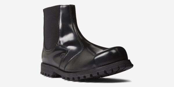 GUARDSMAN STEEL CAP CHELSEA BOOT – BLACK LEATHER – SINGLE SOLE – CUSTOM MADE