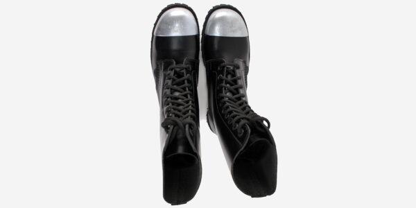 steel cap bootsteel cap boot steel cap boot COMMANDO – 10 EYELET EXTERNAL STEEL CAP BOOT – BLACK LEATHER – SINGLE SOLE