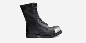 Underground Original External Steel Cap Commando Tumbled leather leather combat boot for men and women