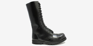 Ranger Steel cap boot - black leather
