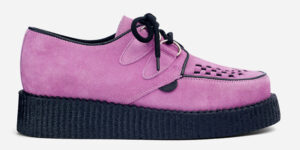 UNDERGROUND ORIGINAL WULFRUN CREEPER – LILAC SUEDE – SHOES FOR MEN AND WOMEN