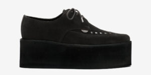 UNDERGROUND BARFLY CREEPER – BLACK SUEDE – TRIPLE SOLE – CUSTOM MADE FOR MEN AND WOMEN