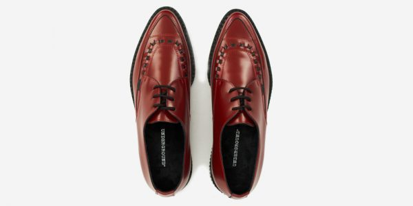 Underground Original Barfly Creeper red leather shoe for men and women