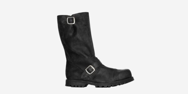 Underground Original Engineers Creeper steel toe cap boot black leather for men and women