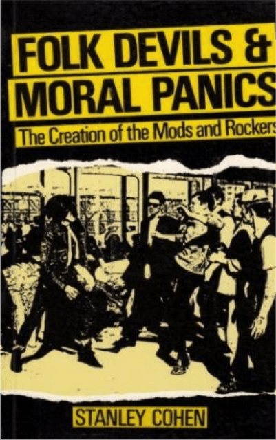 Folk Devils and Moral Panics: The Creation of the Mods and Rockers by Stanley Cohen Underground England Blog