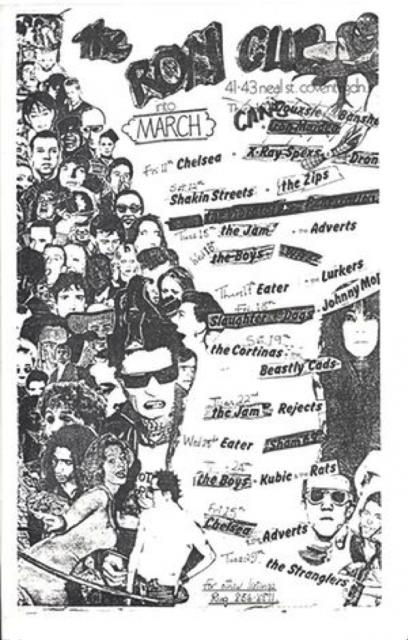 PUNK LONDON - Punk 1976-78 – British Library Exhibition