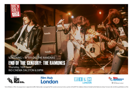 END OF THE CENTURY –THE RAMONES DOC'N ROLL FESTIVAL UNDERGROUND ENGLAND BLOG