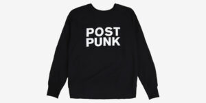 POST PUNK SWEATSHIRT – BLACK