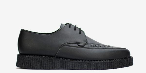 Underground Original Barfly Creeper black vegan friendly leather shoe for men and women