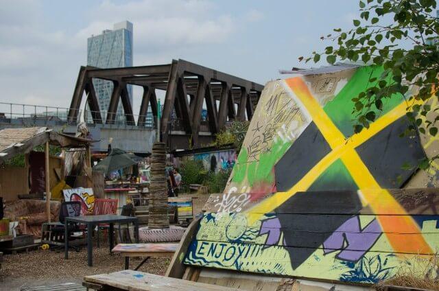 Community Gardens Brick Lane Underground blog British subculture