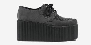 Underground Original Wulfrun Creeper grey suede leather shoe for men and women