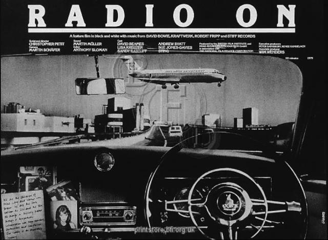 Film poster for Radio On - Underground England blog