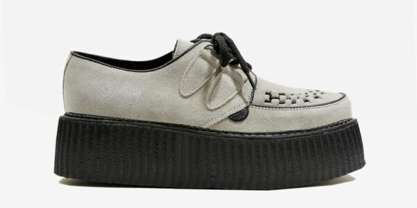 Underground Original Wulfrun Creeper beige suede shoe for men and women